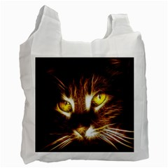 Cat Face Recycle Bag (two Side)
