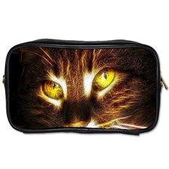 Cat Face Toiletries Bags 2 Side