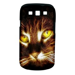 Cat Face Samsung Galaxy S Iii Classic Hardshell Case (pc+silicone)