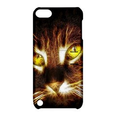 Cat Face Apple Ipod Touch 5 Hardshell Case With Stand