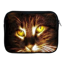 Cat Face Apple Ipad 2/3/4 Zipper Cases