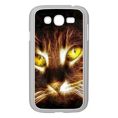 Cat Face Samsung Galaxy Grand Duos I9082 Case (white)