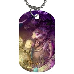 Cartoons Video Games Multicolor Dog Tag (one Side)