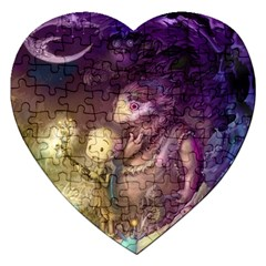 Cartoons Video Games Multicolor Jigsaw Puzzle (heart)