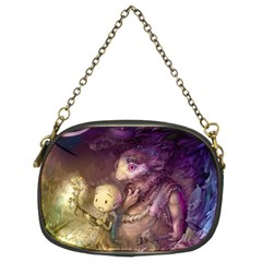 Cartoons Video Games Multicolor Chain Purses (two Sides)