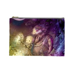 Cartoons Video Games Multicolor Cosmetic Bag (large)