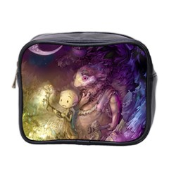 Cartoons Video Games Multicolor Mini Toiletries Bag 2 Side