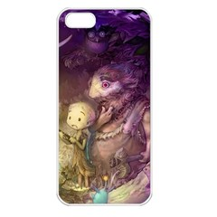 Cartoons Video Games Multicolor Apple Iphone 5 Seamless Case (white)