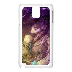 Cartoons Video Games Multicolor Samsung Galaxy Note 3 N9005 Case (white)