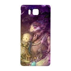 Cartoons Video Games Multicolor Samsung Galaxy Alpha Hardshell Back Case
