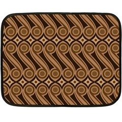 Batik The Traditional Fabric Double Sided Fleece Blanket (mini)