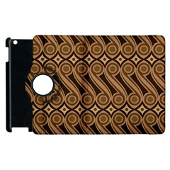 Batik The Traditional Fabric Apple Ipad 2 Flip 360 Case
