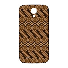 Batik The Traditional Fabric Samsung Galaxy S4 I9500/i9505  Hardshell Back Case