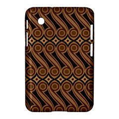 Batik The Traditional Fabric Samsung Galaxy Tab 2 (7 ) P3100 Hardshell Case