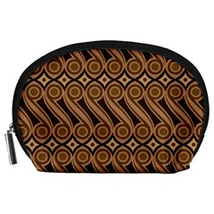 Batik The Traditional Fabric Accessory Pouches (large)