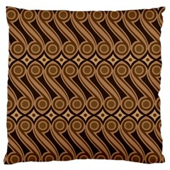 Batik The Traditional Fabric Standard Flano Cushion Case (one Side)