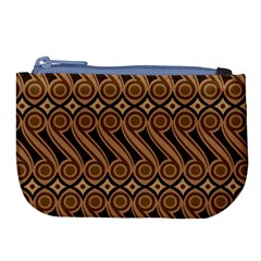 Batik The Traditional Fabric Large Coin Purse