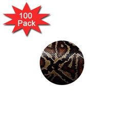 Snake Skin Olay 1  Mini Buttons (100 Pack)