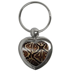 Snake Skin Olay Key Chains (heart)