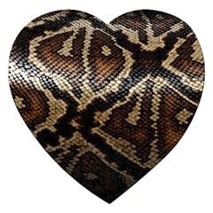 Snake Skin Olay Jigsaw Puzzle (heart)