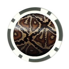 Snake Skin Olay Poker Chip Card Guard (10 Pack)