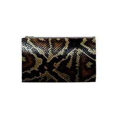 Snake Skin Olay Cosmetic Bag (small)
