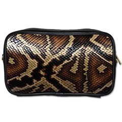 Snake Skin Olay Toiletries Bags 2 Side