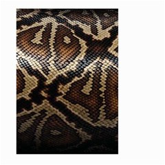 Snake Skin Olay Large Garden Flag (two Sides)