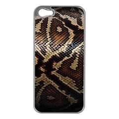 Snake Skin Olay Apple Iphone 5 Case (silver)