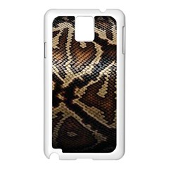 Snake Skin Olay Samsung Galaxy Note 3 N9005 Case (white)
