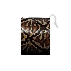Snake Skin Olay Drawstring Pouches (xs)
