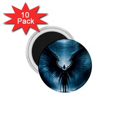 Rising Angel Fantasy 1 75  Magnets (10 Pack)