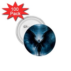 Rising Angel Fantasy 1 75  Buttons (100 Pack)