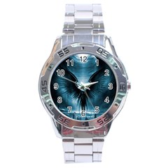 Rising Angel Fantasy Stainless Steel Analogue Watch