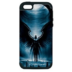 Rising Angel Fantasy Apple Iphone 5 Hardshell Case (pc+silicone)