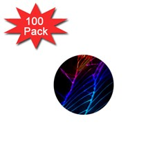 Cracked Out Broken Glass 1  Mini Buttons (100 Pack)