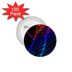 Cracked Out Broken Glass 1 75  Buttons (100 Pack)