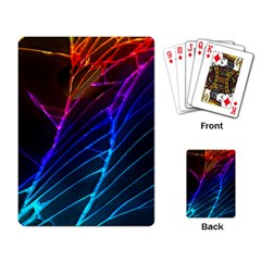 Cracked Out Broken Glass Playing Card