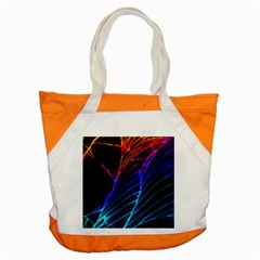 Cracked Out Broken Glass Accent Tote Bag