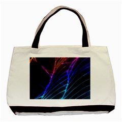 Cracked Out Broken Glass Basic Tote Bag (two Sides)