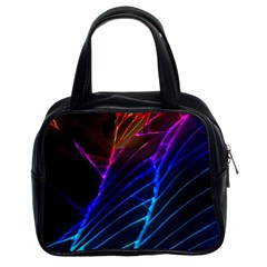 Cracked Out Broken Glass Classic Handbags (2 Sides)