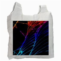 Cracked Out Broken Glass Recycle Bag (two Side)