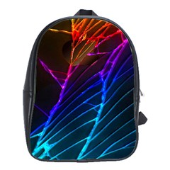 Cracked Out Broken Glass School Bags(large)