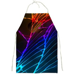 Cracked Out Broken Glass Full Print Aprons