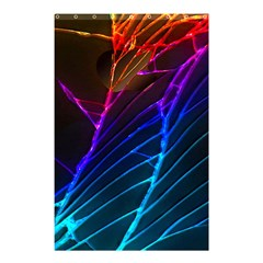 Cracked Out Broken Glass Shower Curtain 48  X 72  (small)