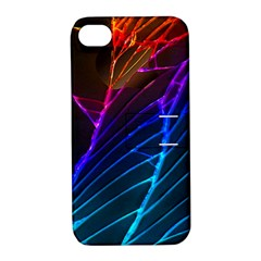 Cracked Out Broken Glass Apple Iphone 4/4s Hardshell Case With Stand