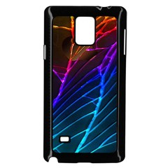 Cracked Out Broken Glass Samsung Galaxy Note 4 Case (black)