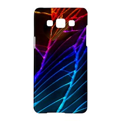 Cracked Out Broken Glass Samsung Galaxy A5 Hardshell Case