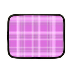 Seamless Tartan Pattern Netbook Case (small)