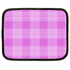 Seamless Tartan Pattern Netbook Case (large)